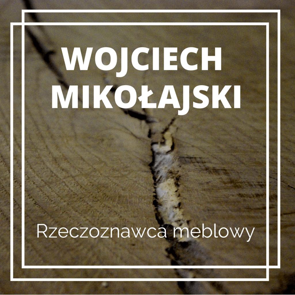 Po kliknięciu w obrazek prowadzimy do strony Wojciecha Mikołajskiego - Rzeczoznawca meblowy